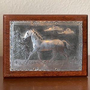 Decorative Horse Box